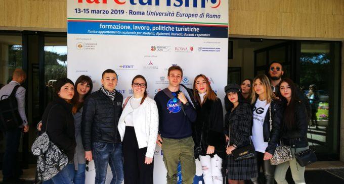 GLI STUDENTI DELL'ISTITUTO ALBERGHIERO DI LADISPOLI PARTECIPANO A 'FARE TURISMO'