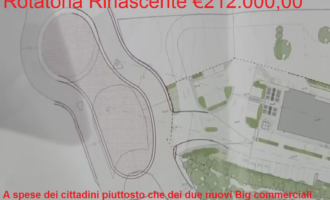 Tellaroli (M5S) : Realizzazione della Nuova Rotatoria Rinascente a spese della cittadinanza piuttosto che dai due nuovi Big Commerciali.