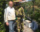 Valcanneto, tempestivo intervento di rimozione di un nido d'api da parte delle Guardie Ecozoofile di Fare