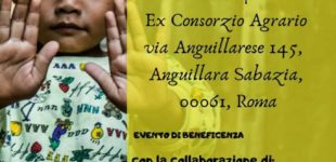 """SABATO 27 APRILE 2019 ORE 17.00 ALL'EX CONSORZIO, EVENTO DI BENEFICIENZA """"SORRIDENDO, IN SILENZIO OLTRE IL CONFINE"""""""