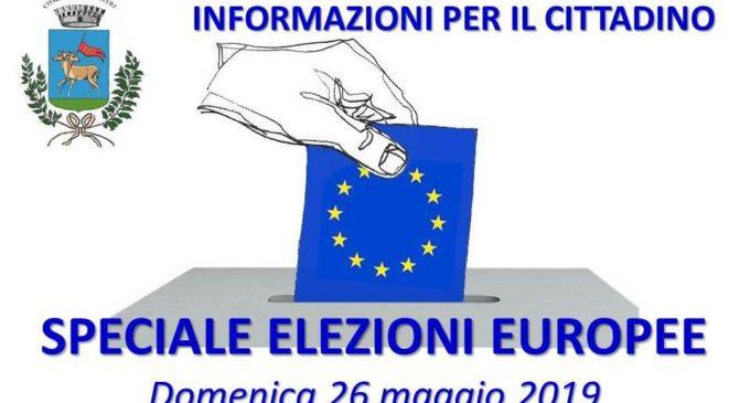 Elezioni Europee 2019, Cerveteri: informazioni per il voto