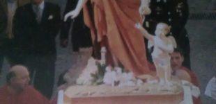 Bracciano. Festeggiamenti di Maggio per il patrono San Sebastiano, disegnato dai bambini