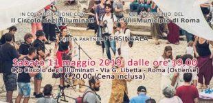 """""""Serata Ad Arte"""" al Circolo digli illuminati a Roma"""