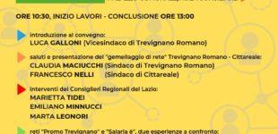 """Sabato 6 aprile 2019, ore 10:30 convegno """"La Rete dell'Amicizia""""presso l'Aula Consiliare del Comune di Trevignano Romano."""