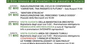 Quindici anni di UNESCO: a Cerveteri un lungo ciclo di conferenze