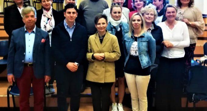 In visita dirigenti polacchi alla Melone