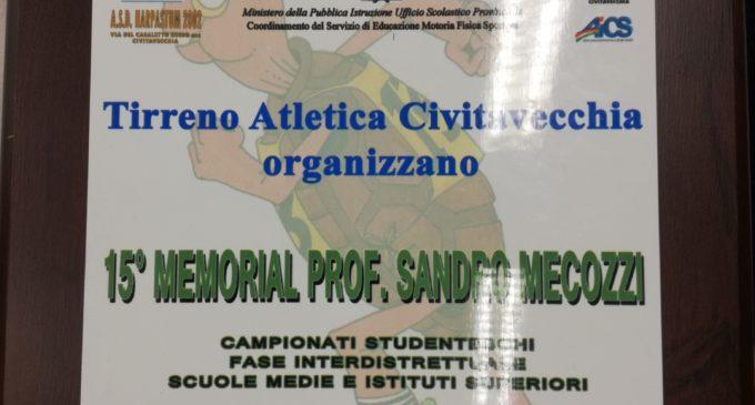 L'ISTITUTO 'GIUSEPPE DI VITTORIO' PARTECIPA AL CAMPIONATO DI ATLETICA 'MEMORIAL SANDRO MECOZZI'
