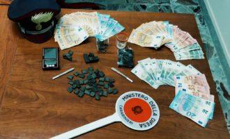 Campagnano: Compagnia Carabinieri di Bracciano – Giovane coppia in arresto per spaccio