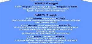 """Trevignano Romano: Inaugurazione """"Festival di Filosofia sul Lago"""" a bordo del battello, Venerdì 17 maggio"""