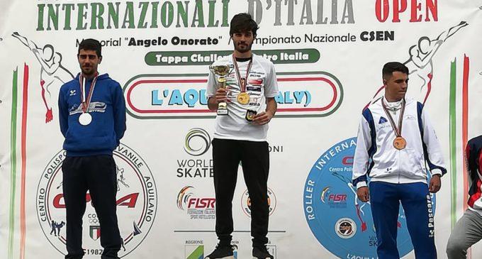 Pattinaggio Velocità: Giovanni Piccoli, vince la maratona agli Interazionali d'Italia Open 2019 e la Debby Roller Team conquista 7 medaglie