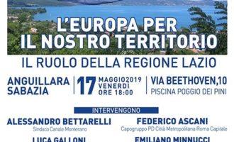 """Anguillara Sabazia PD: """"L'Europa per il nostro futuro""""- 17 maggio 2019, ore 18:00"""