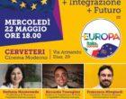 Cerveteri: Europee 2019, incontro pubblico con i candidati di +Europa/Italia in Comune al Cinema Moderno
