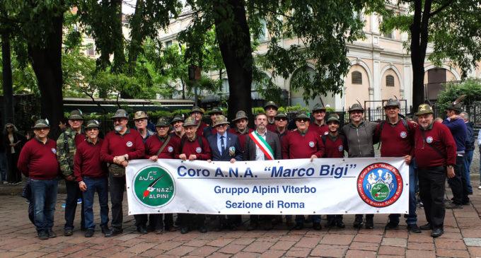 """Ronciglione: 92° Adunata Nazionale degli Alpini a Milano, presente anche il coro """"Marco Bigi""""di Ronciglione"""