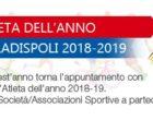 """Torna """"Atleta dell'anno"""" a Ladispoli"""