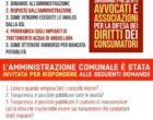 """Anguillara: """"Acqua potabile diritti dei consumatori modalità dei rimborsi""""- 18 maggio 2019, P.zza del Comune"""