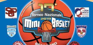 Mini Basket : 1-2 giugno a Bracciano il 17° Torneo