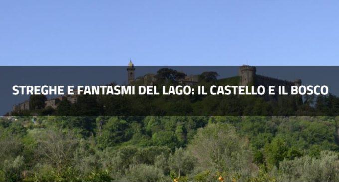 Streghe e fantasmi del Lago: il castello e il bosco