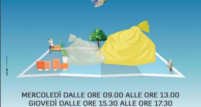 Anguillara: Dal 29 maggio al 29 giugno, distribuzione annuale sacchetti della raccolta differenziata