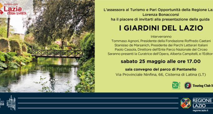 I Giardini del Lazio – Sabato 25 maggio ore 17, Cisterna di Latina