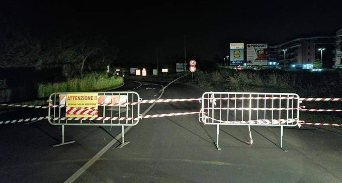 Bracciano: Ultime notizie sulla chiusura della strada in Via Braccianese Claudia II