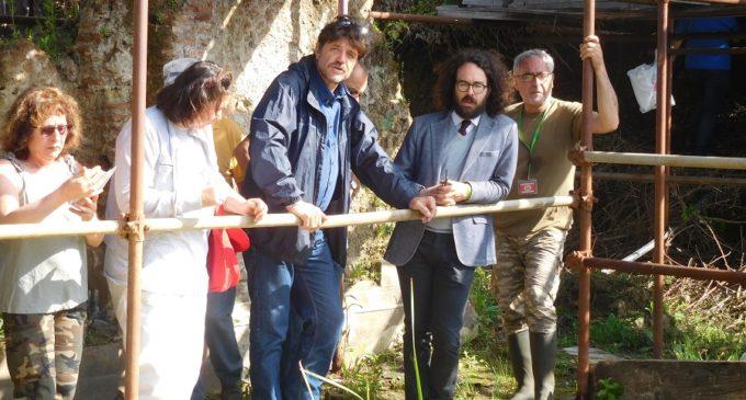 Sindaco di Cerveteri: Sito Unesco nella necropoli della Banditaccia ha visitato le antiche Aquae Caeretanae