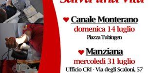 Croce Rossa Italiana – Comitato di Sabatino – Attività luglio-agosto 2019