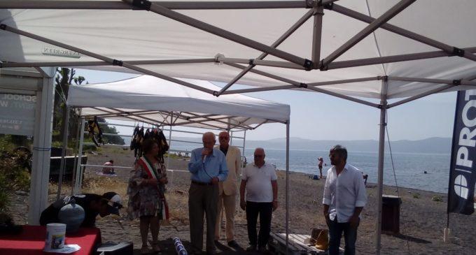 Ieri la Cerimonia di consegna di una sedia Job al centro Multisport Club Sabazia