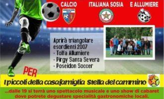 Tolfa: Sabato, la partita della Solidarietà