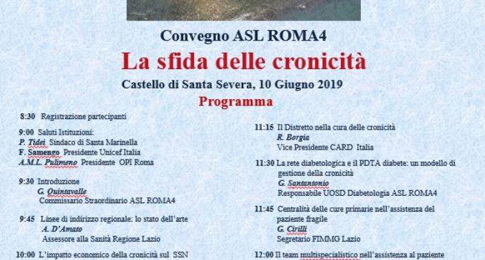 Convegno Asl Roma 4 – lunedì 10 giugno 2019