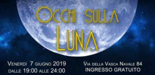 """A Roma Tre """"Occhi sulla Luna"""" – Venerdì 7 giugno dalle 19 fino alle 24"""