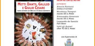 """Cerveteri: """"Metti Dante"""" evento 9 giugno alle 17"""