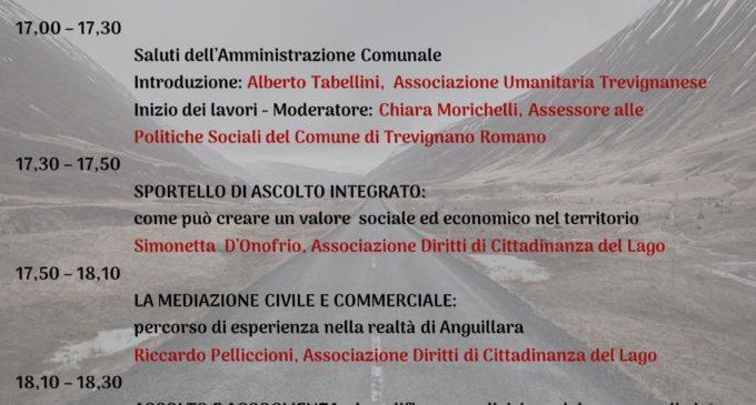 Com. Stampa Trevignano: Inaugurazione sportello di ascolto e orientamento