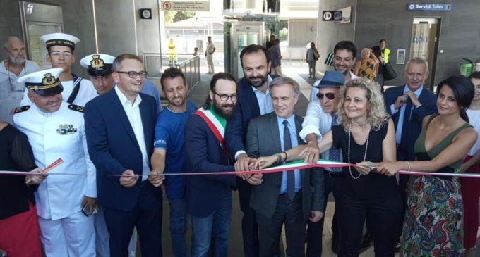 """Marina di Cerveteri, inaugurata la Stazione. Pascucci: """"un gioiello di architettura, funzionalità e accessibilità"""""""