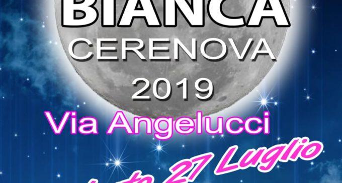 A Cerenova, arriva la Notte Bianca