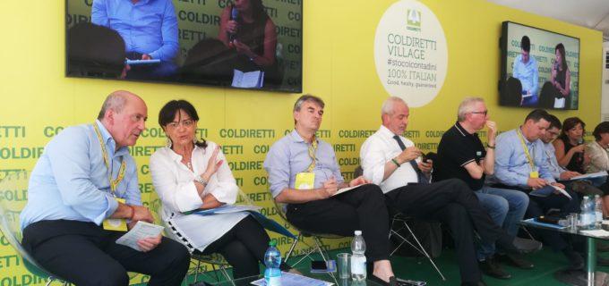Milano, Anbi Lazio al villaggio Coldiretti per confronto sul nuovo ruolo dei Consorzi di bonifica