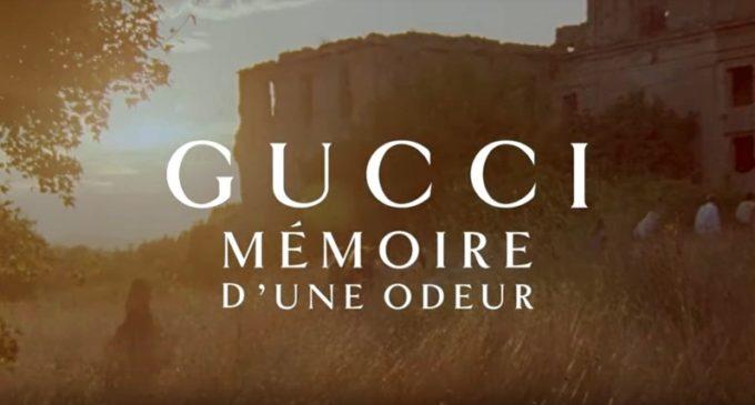 Monterano per la campagna mondiale della nuova fragranza di Gucci