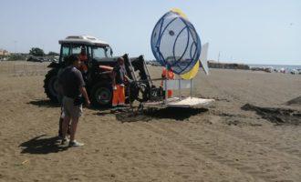 """Campo di Mare, un """"mega pesce"""" eCamponuove mini-isole ecologiche per spiagge Plastic Free"""