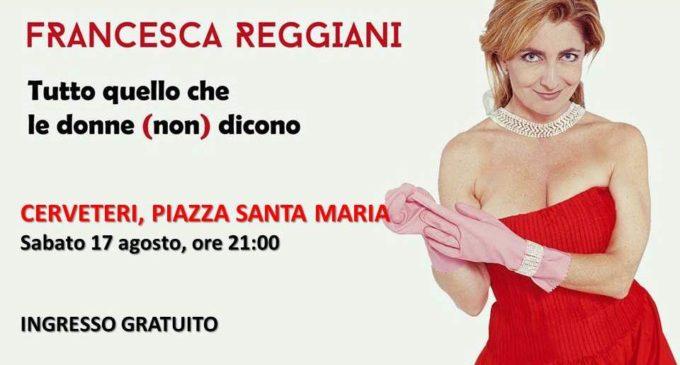 Cerveteri, in Piazza Santa Maria in scena Francesca Reggiani ad ingresso gratuito