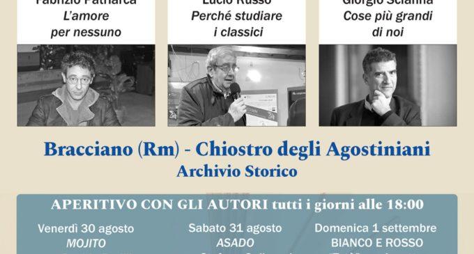 """Bracciano, """"Incontro con gli Autori"""" presso Chiostro degli Agostiniani"""
