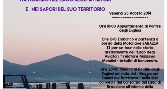 """Bracciano, """"Racconti e sapori del Lago"""" – Venerdì 23 agosto 2019"""