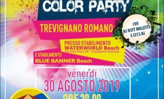 Torna il color party a Trevignano Romano – 30 agosto 2019