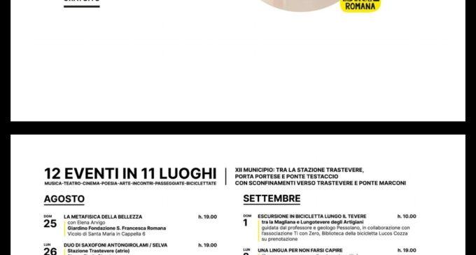 """Roma, """"Di là dal fiume"""" dal 25 agosto al 4 settembre"""