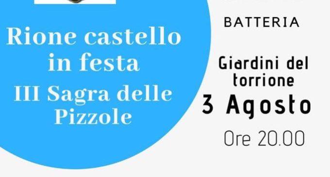 Anguillara, Rione Castello in Festa – III Sagra della Pizzola