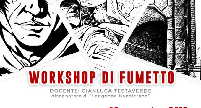 """Aperte le iscrizioni al """"Workshop di fumetto"""" che si terrà a Napoli il 16 novembre 2019"""