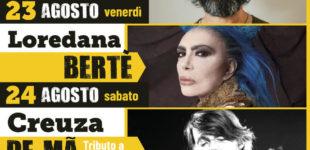 Cerveteri, è la settimana della Sagra dell'Uva e del Vino dei Colli Ceriti e di Etruria Eco Festival: arrivano Simone Cristicchi, Loredana Berté e l'omaggio a De Andrè
