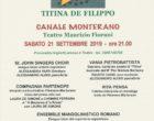 Canale Monterano, grandi applausi per lo spettacolo che ha celebrato Titina De Filippo