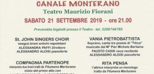 """""""Titina De Filippo"""": Il 21 Settembre al Teatro di Canale Monterano torna lo spettacolo dedicato alla grandissima interprete del Novecento"""