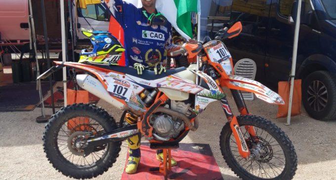 Cerveteri, Enduro Major: Damiano Incaini Campione d'Italia nella classe Master 450