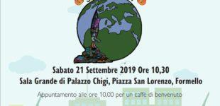 """""""Piantiamola!"""" Inquinamento globale e rifiuti locali. Sabato 21 settembre ore 10.00 Sala Grande di Palazzo Chigi"""