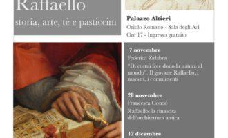 """Al Palazzo Altieri di Oriolo, """"Arté – Aspettando Raffaello"""" dal 7 novembre al 19 dicembre"""